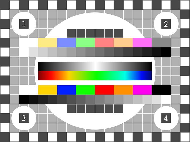 У старых телевизоров был хотя бы тестовый экран профилактики, а при нашем раскладе – только чёрный цвет