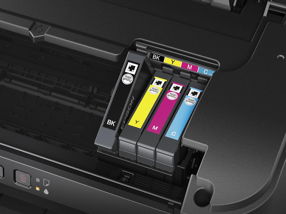 Струйный принтер с раздельными картриджами