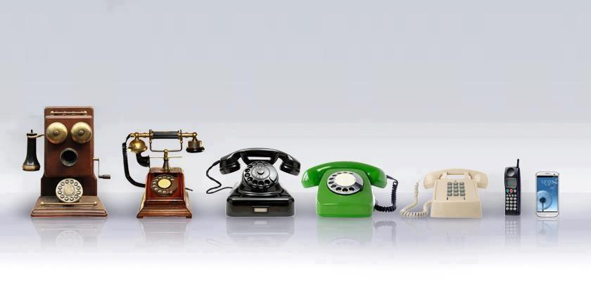 <Рис. 13 Эволюция телефонной связи