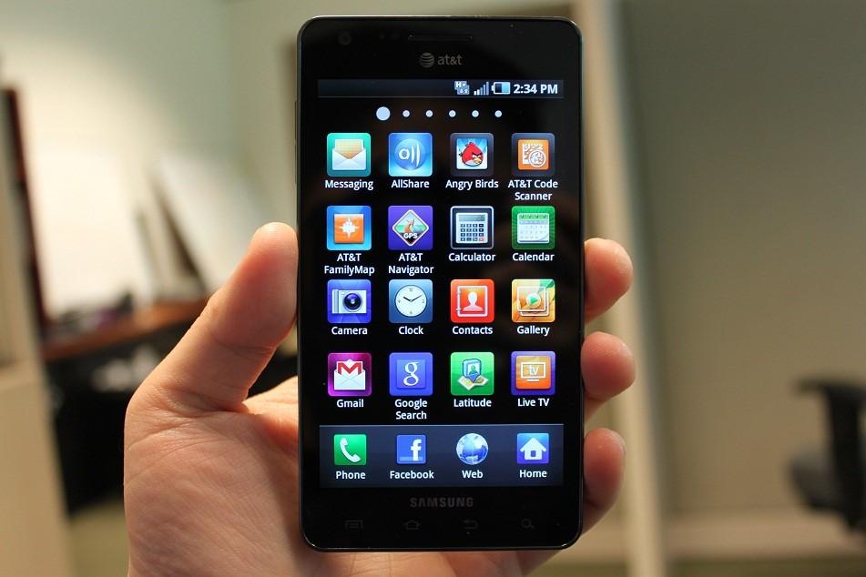 Рис.2. Обновленный лаунчер для Samsung