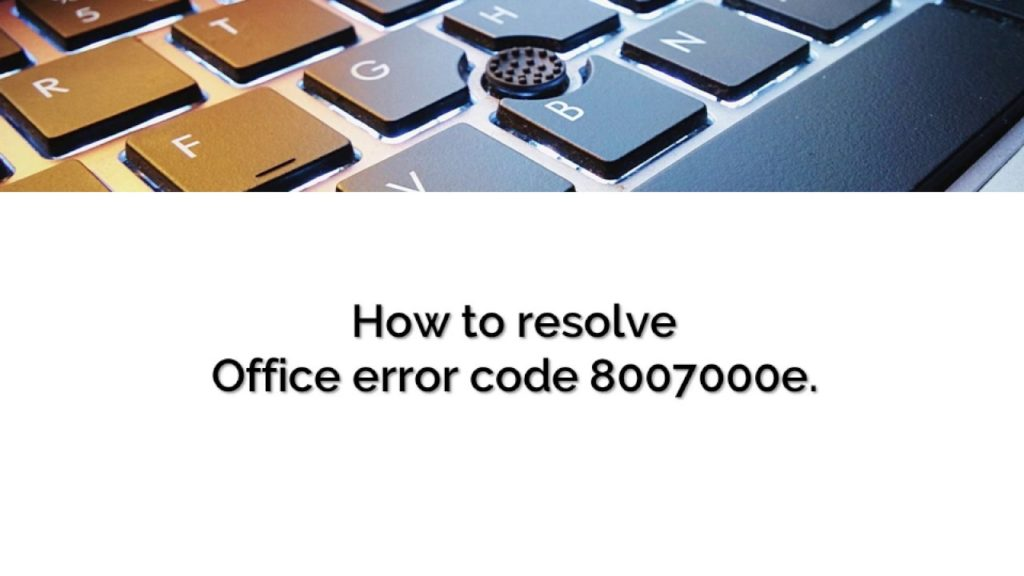 8007000e ошибка обновления Windows 7