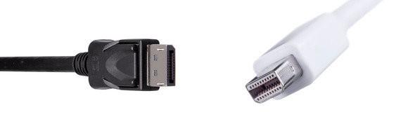 Рис. №3. Внешний вид штекеров DisplayPort