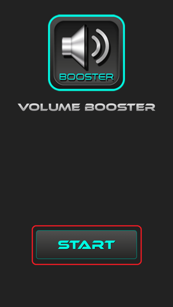 Интерфейс Volume Booster Plus