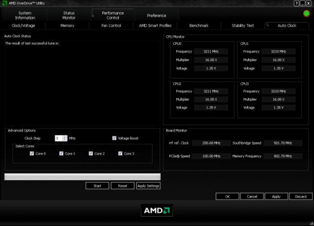Как пользоваться AMD Overdrive?
