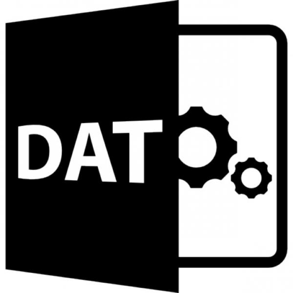 открыть файл dat