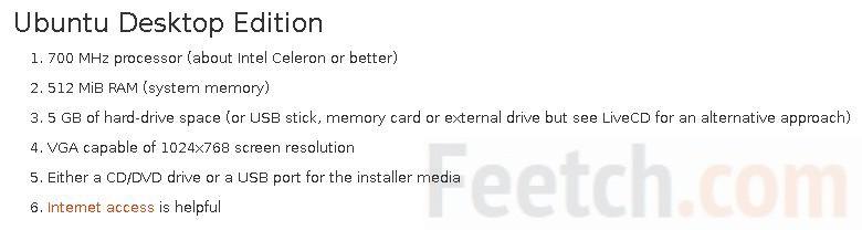 Требования для установки Ubuntu