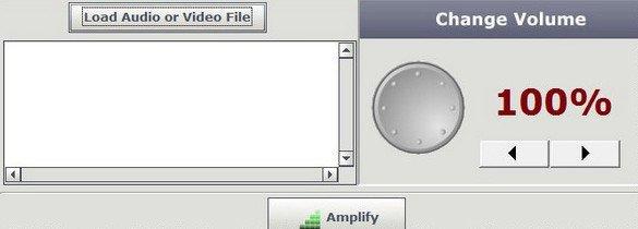 Audio Amplifier - главное окно