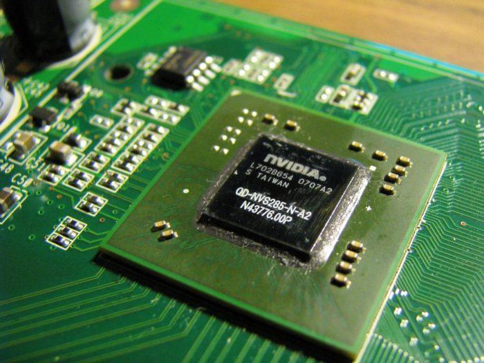 Графический процессор самый важный элемент в видеокарте