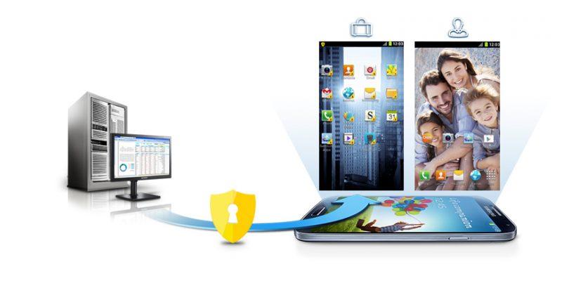 Защита данных при помощи Samsung KNOX