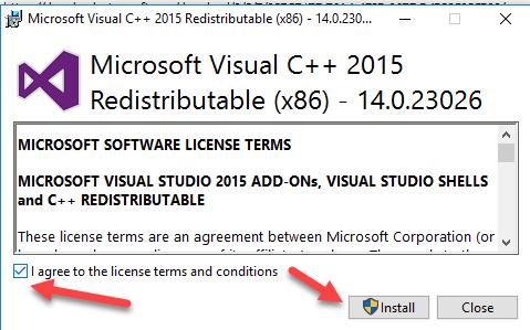 Microsoft Visual C ++ 2012 Redistributable