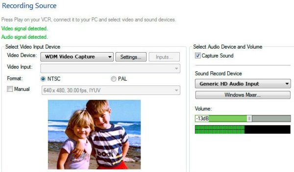 Программа для преобразования Golden Videos VHS to DVD Converter