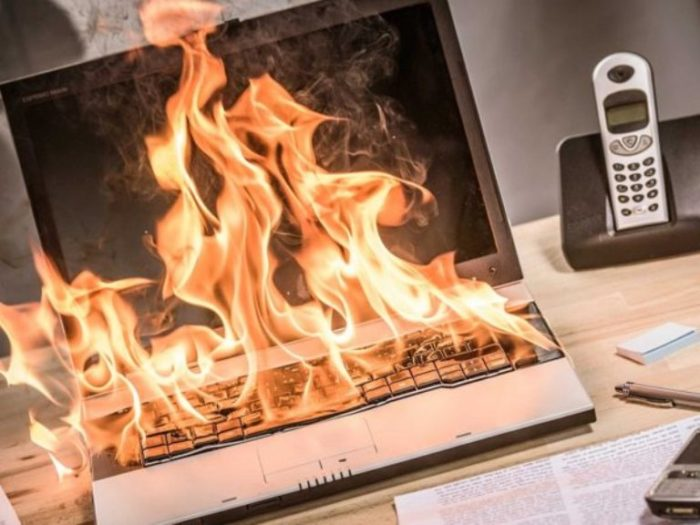 Самые главные причины, которые способствуют перегреву ноутбука