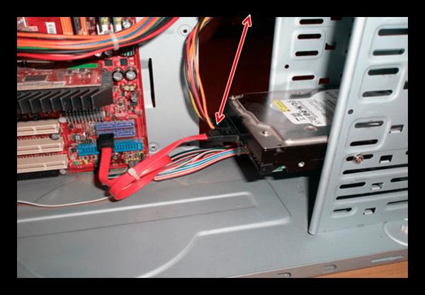Соединение SATA-диска с БП