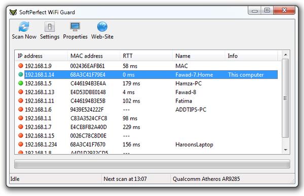 Soft Perfect Wi-Fi Guard