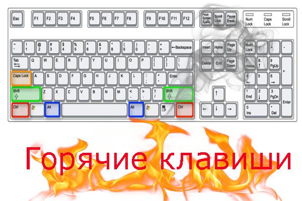 Способы настройки горячих клавиш под себя в Виндовс 10