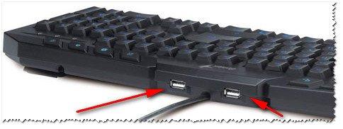 USB-порта на клавиатуре