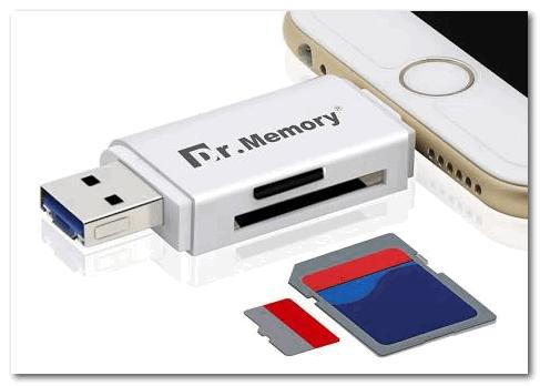 Универсальный адаптер - может использоваться в том числе как флешка для телефона и ПК