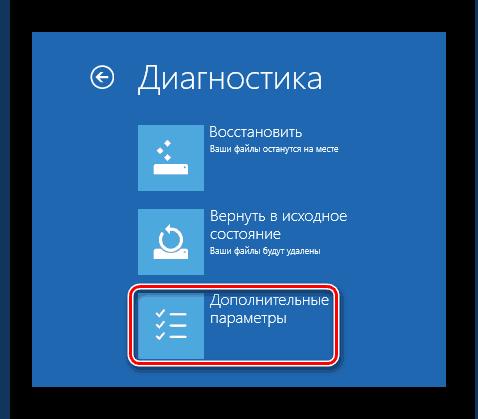 Windows 8 Диагностика