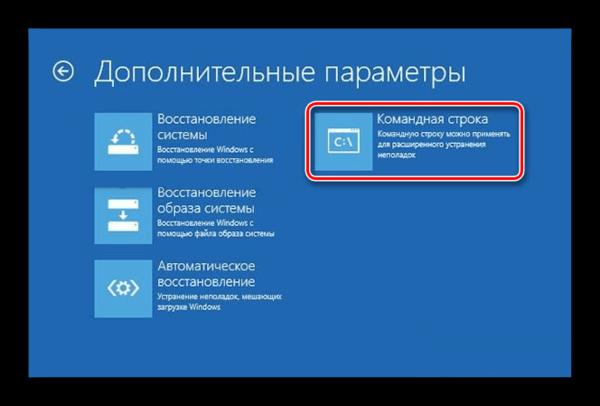 Windows 8 Командная строка