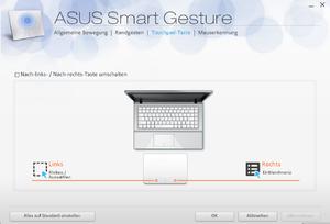 Для чего нужна Asus Smart Gesture?