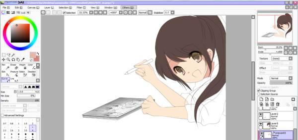 программы для рисования аниме на компьютере