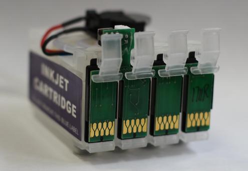 Блок картриджей СНПЧ для Epson с чипом