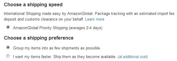 Скриншот 11 с сайта Amazon.com