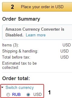 Скриншот 14 с сайта Amazon.com