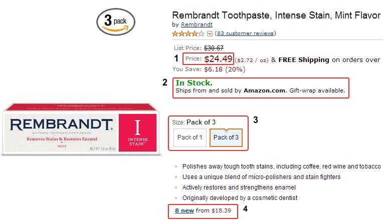 Скриншот 3 с сайта Amazon.com