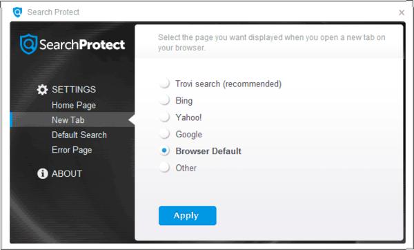программаSearch Protect