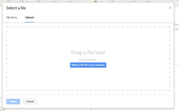 Добавить файл
