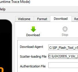 прошивка SP Flash Tool