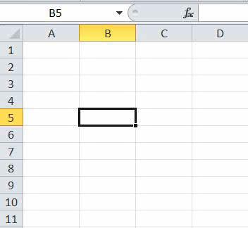 Excel первые шаги