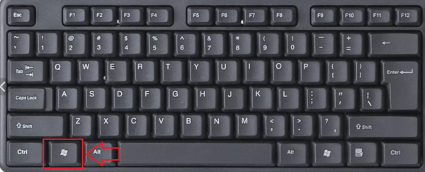 окно на весь экран комбинация клавиш