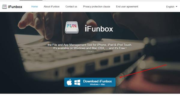 Официальный сайт iFunbox