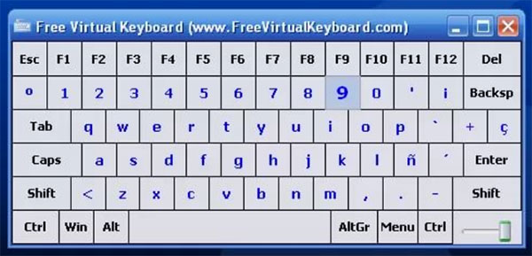 Программа Free Virtual Keyboard