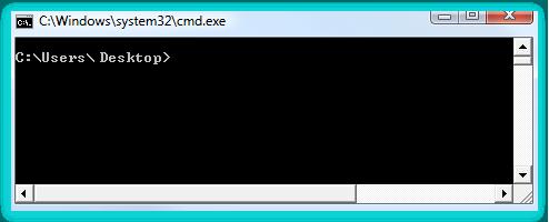 Стиль командной строки в системе Windows Vista
