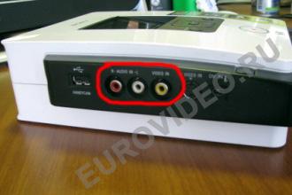 Оцифровка видеокассет - подключаем DVD рекордер