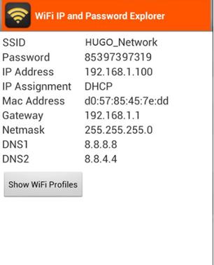 Просмотр пароля wi-fi с телефона