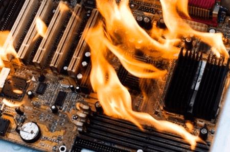 причины самостоятельного выключения компьютера
