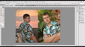 Обработка изображений с помощью Фотошоп