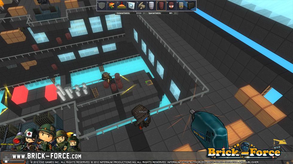 игра Brick-Force