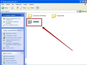 Как увидеть скрытые папки windows 7