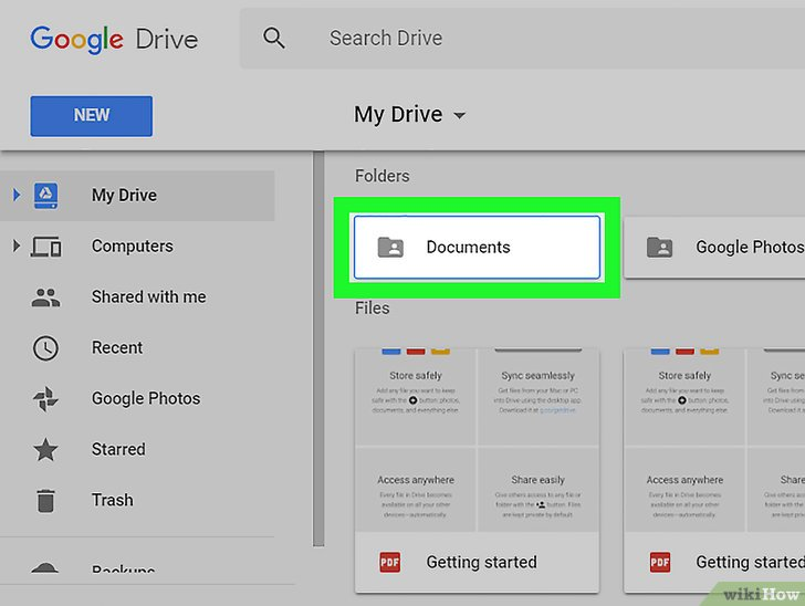 Изображение с названием Download a Google Drive Folder on PC or Mac Step 2