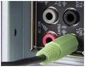Штекер аудиоустройства