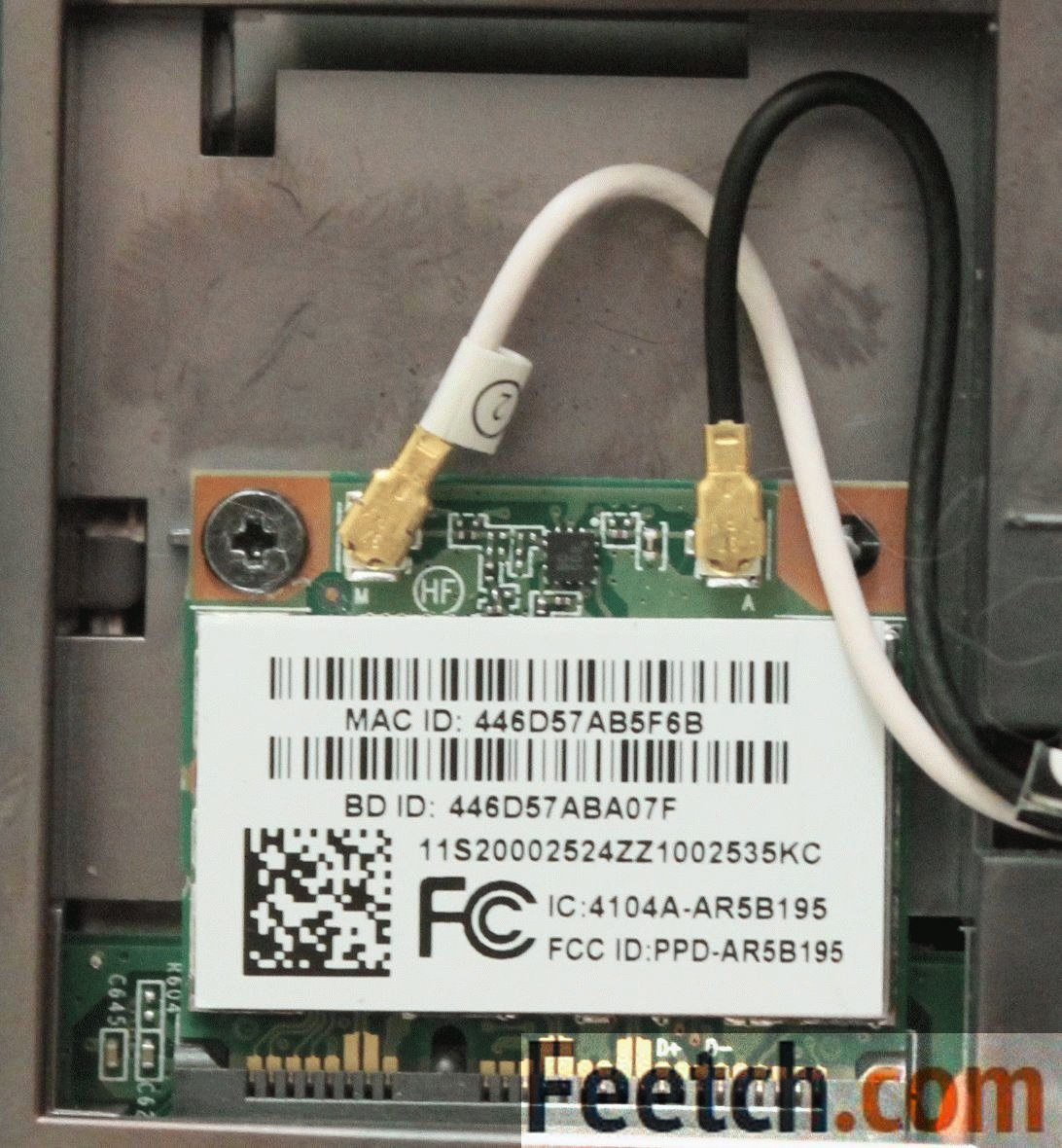Коаксиальные провода в ноутбуке