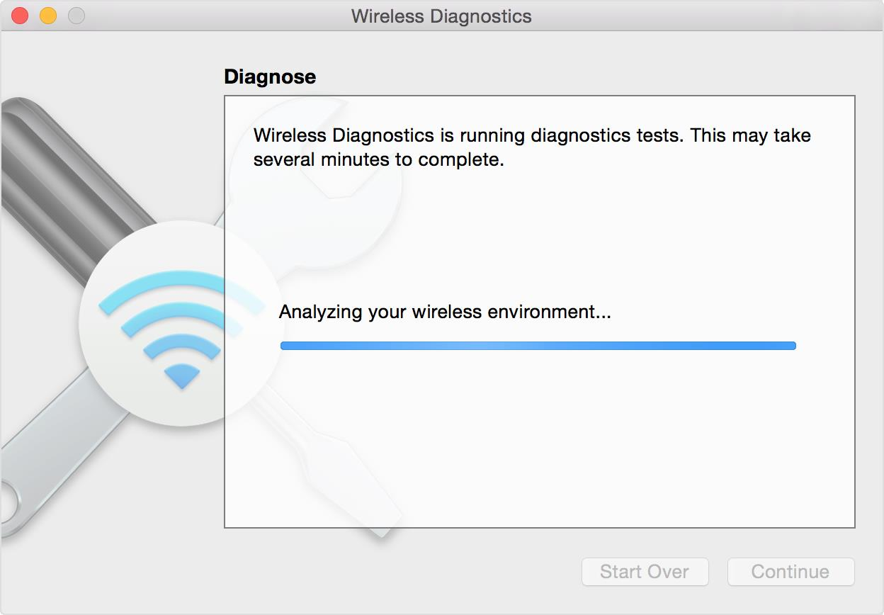 Apple Wireless Diagnostics (macOS)