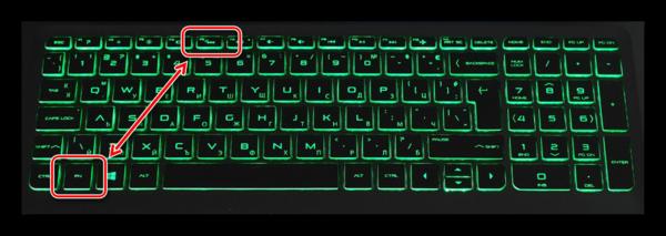 Использование клавиши F5 на ноутбуке HP