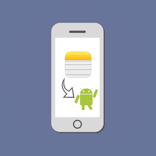 Как перенести заметки с Айфона на Андроид