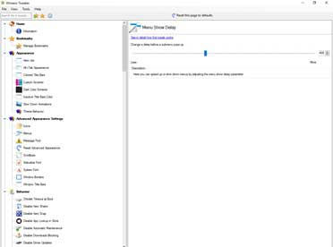 Winaero tweaker для Windows 10